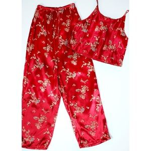 NWT Victoria's Secret 2pc. Asian Inspired Pajamas